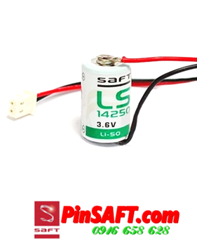 LS14250, Pin Saft LS14250 lithium 3.6v size 1/2AA 1200mAh Made in France
