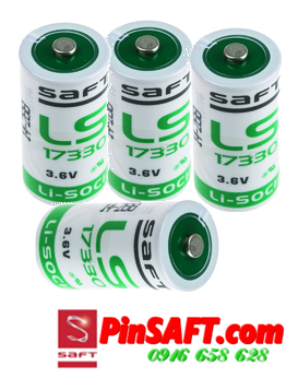 LS17330, Pin Saft LS17330 lithium 3.6v size 2/3A 1800mAh Made in France
