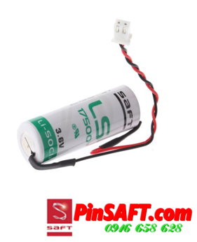 LS17500, Pin Saft LS17500 lithium 3.6v size A 3600mAh Made in France