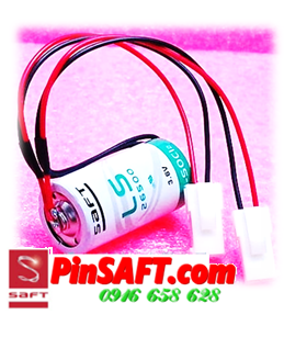 LS26500, Pin saft LS26500 lithium 3.6v size C 7500mAh Made in FRance