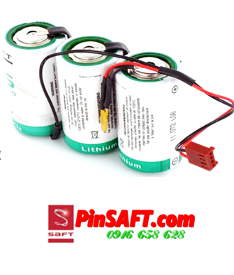 LS33600, Pin Saft LS33600 lithium 3.6v size D 17500mAh Made in France