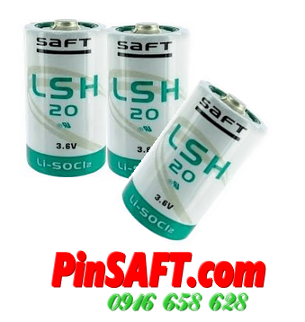 LSH20, Pin Saft LSH20 lithium 3.6v size D 15500mAh Made in France