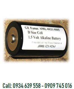 Pin nuôi nguồn PLC-CNC Fanuc A98L-0031-0005 Alkaline 1,5V Battery chính hãng Made in Japan