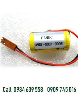 Pin nuôi nguồn Fanuc A98-0031-0006 lithium 3V 2/3A 1200mAh chính hãng Made in Japan