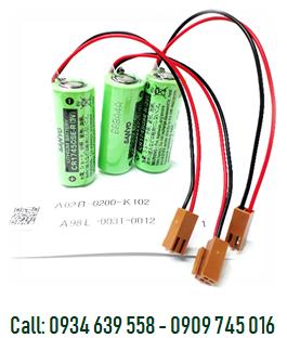 Pin nuôi nguồn Fanuc A98L-0031-0012 Lithium 3V 4/5A 2500mAh Made in Japan