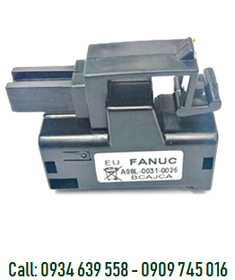 Pin FANUC A98L-0031-0026, lithium FANUC A98L-0031-0026 battery