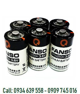 Pin nuôi nguồn FANSO ER14250H/ ER14250 lithium 3.6v 1/2AA 1200mAh