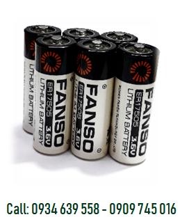 Pin nuôi nguồn PLC 3.6v FANSO ER17505H size A 3600mAh chính hãng