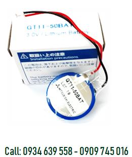 Pin nuôi nguồn Mitsubishi GT11-50 BAT lithium 3V 2/3A 1800mAh chính hãng Made in Japan