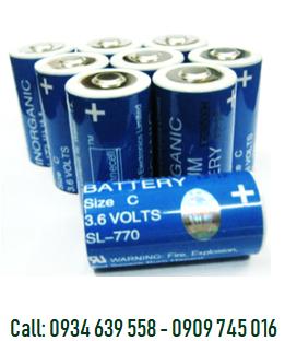 Pin nuôi nguồn SOnnecell SL-770 lithium 3.6v C 7200mAh chính hãng Made in Germany